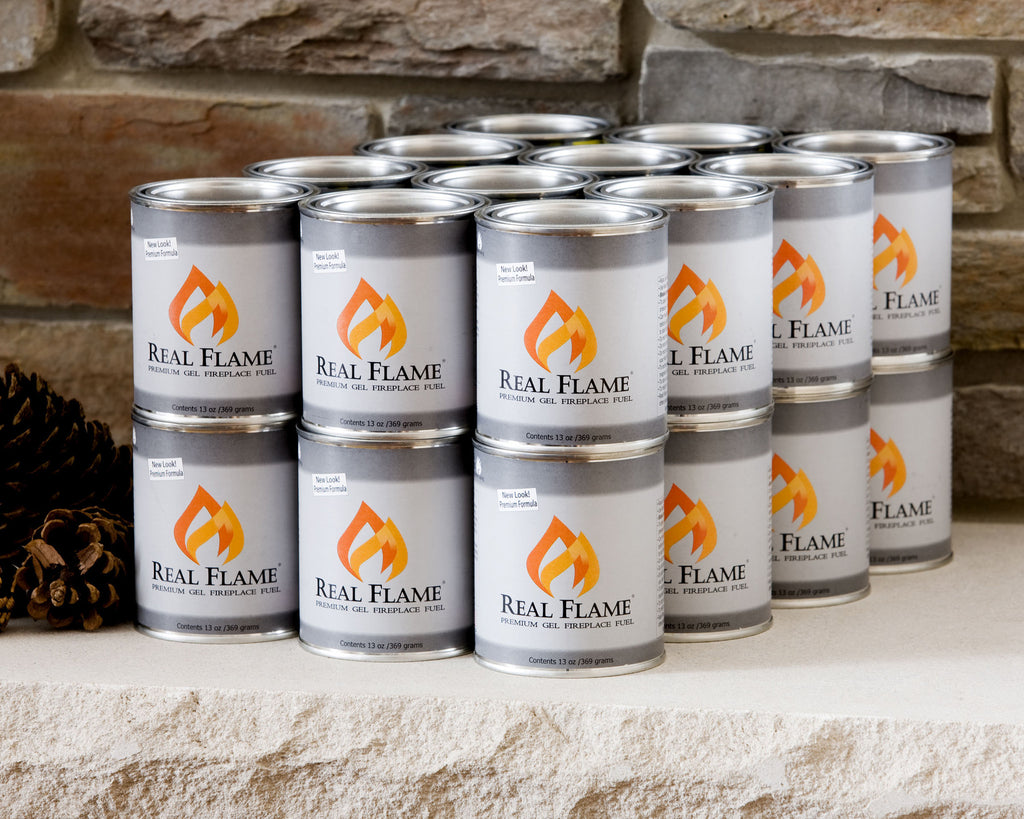 Real Flame Gel Fuel - 24-Pack