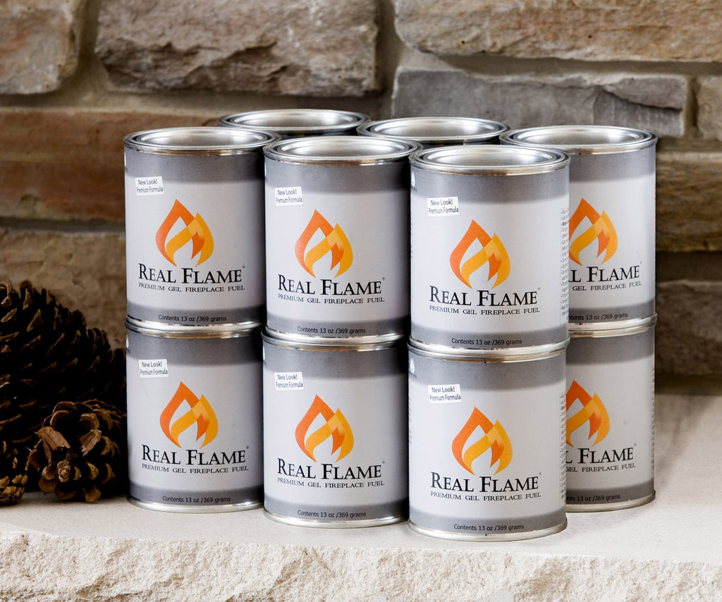 Real Flame Gel Fuel - 12-Pack