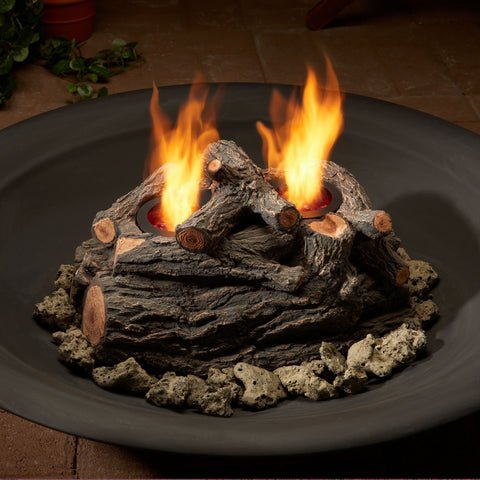 Real Flame 310 2-can Outdoor Convert-To-Gel Log Set