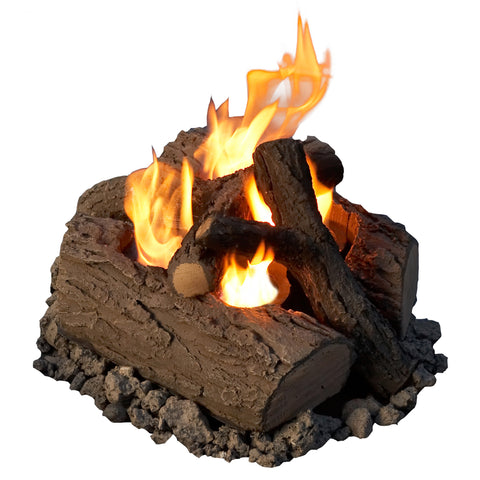 Real Flame 320 4-can Outdoor Convert-To-Gel Log Set