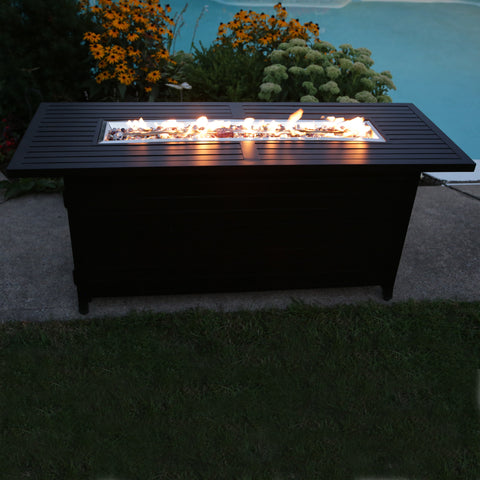 Aluminum Linear Fire Table