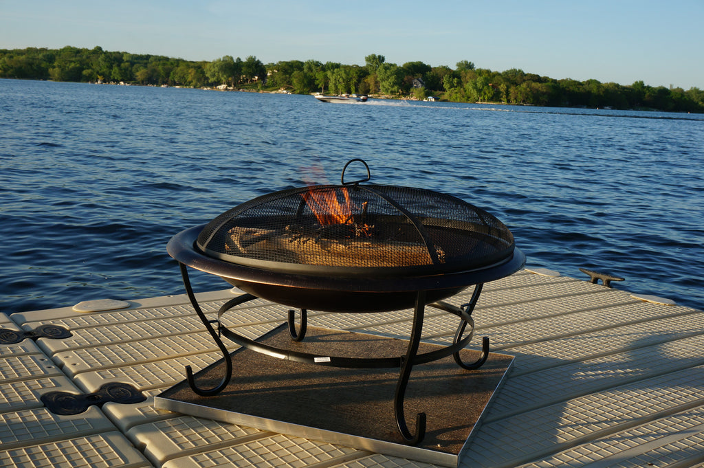 Deck Protect Fire Pit Mat **Save 10% if combined with any fire pit - Deck Protect Fire Pit Mat Sunset Fire Pits