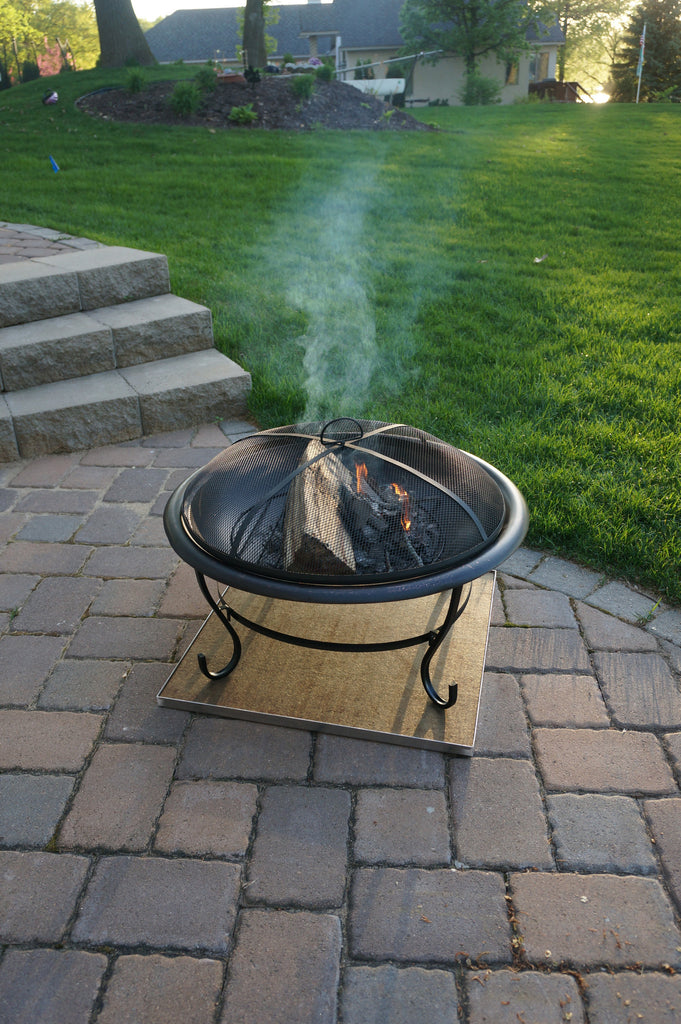 Deck Protect Fire Pit Mat Sunset Fire Pits