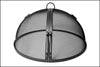 "Hinged Round Fire Pit Screen 30"" - 35"""
