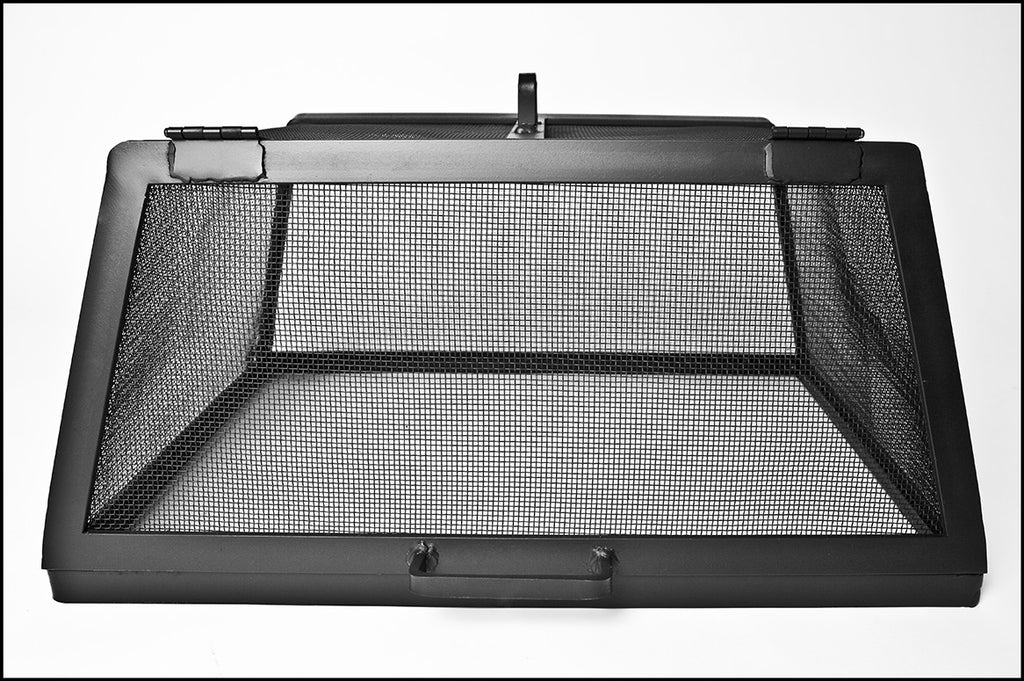 Square of Rectangle Fire Pit Screen