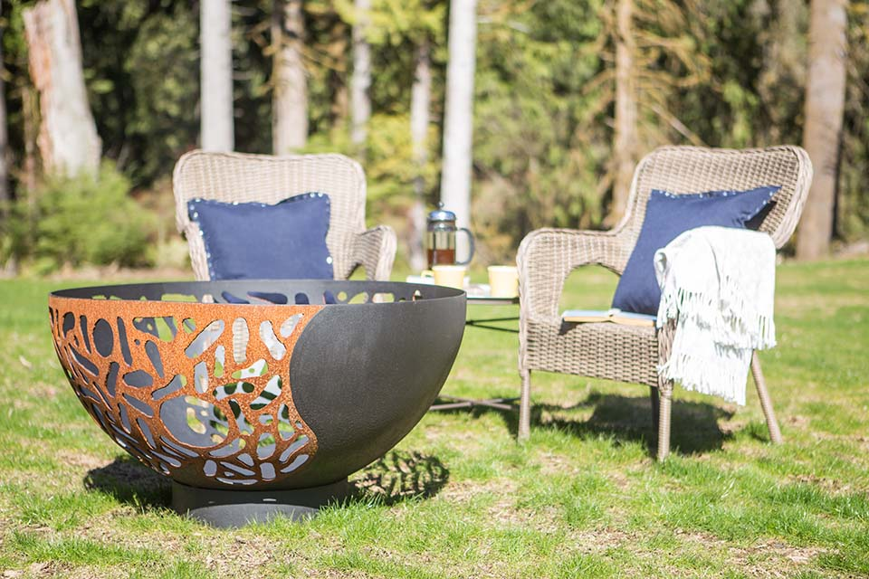 Blended Forces Fire Pit