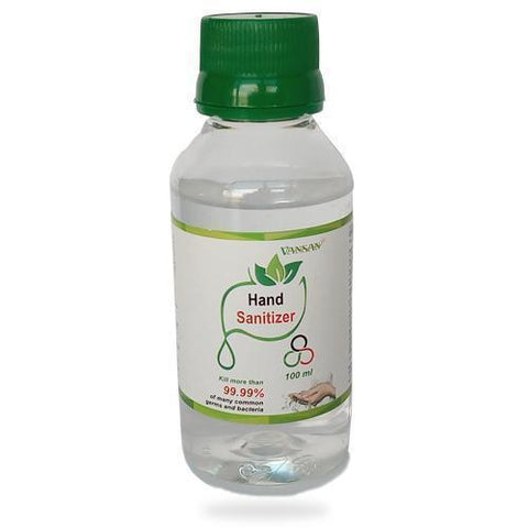 Hand Sanitizer-100ml + 4 hand gloves and 1 FFP2