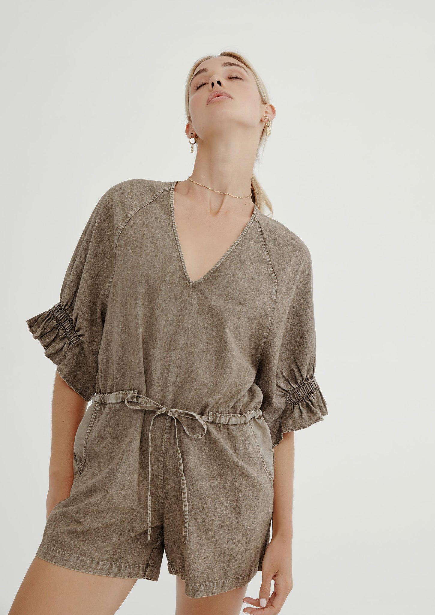 Ivy Playsuit - Natural