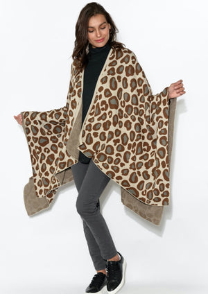 Jane Cape - Brown Leopard