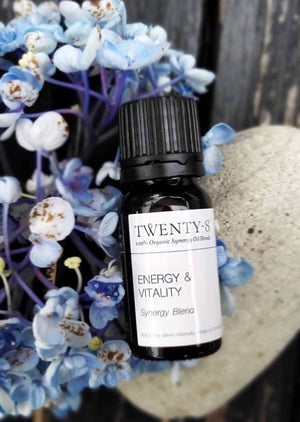 Energy & Vitality - Organic Essential Oil Synergy Blend