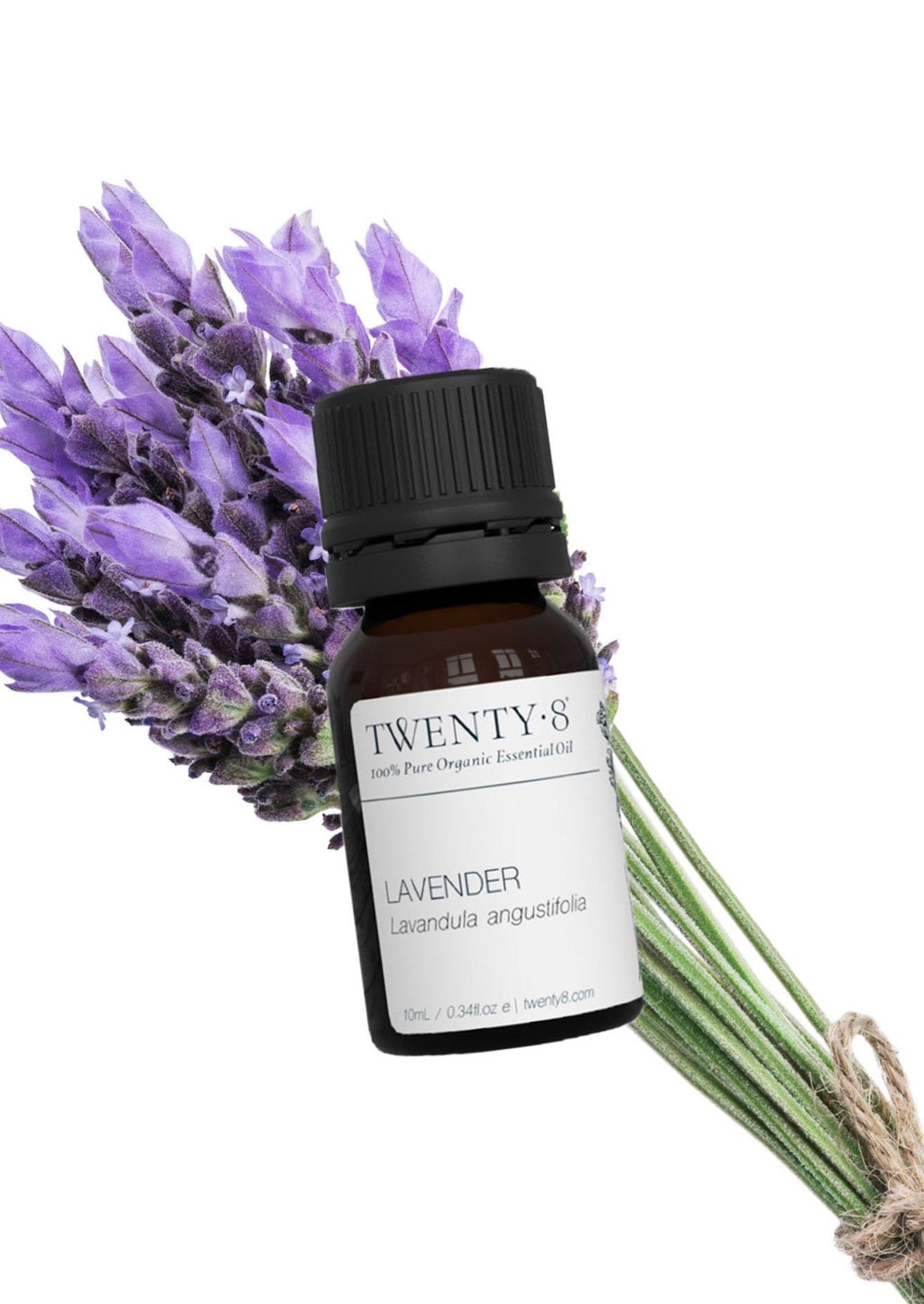 Lavender - 100% Pure, Organic Essential Oil, 10ml  Your first aid kit and dream mum in a bottle! A must-have oil in every home to help nurture, heal, calm, soothe and restore. It is the safest to use directly on small abrasions, bites and stings and is the perfect sleep aid with one drop on your pillow.  No home should be without the healing, nurturing and calming qualities of Lavender.