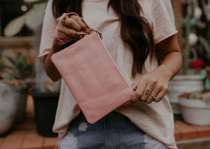 Baby Basic Clutch - Blush