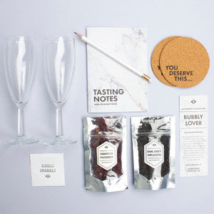Bubbly Lovers Kit (Accessory and Tasting Kit) - Mens Society