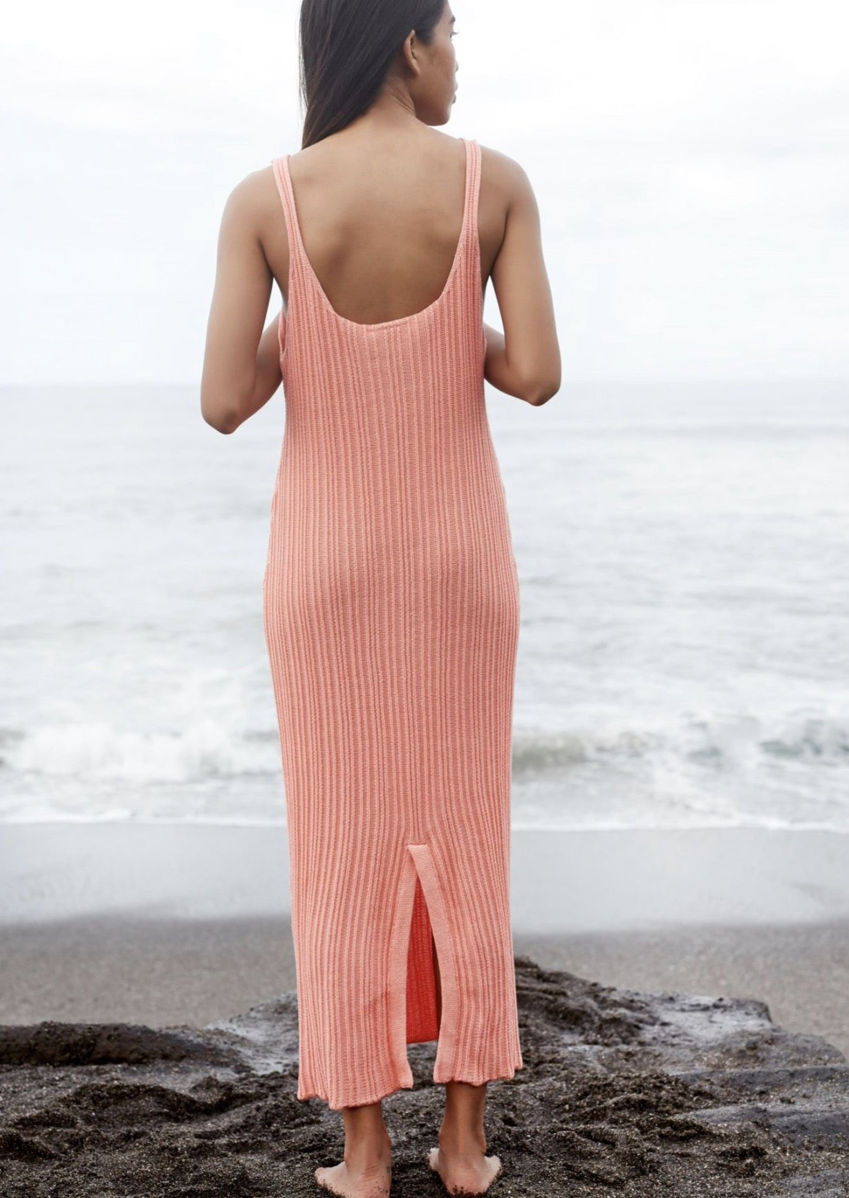 Saige Maxi Dress - Peach