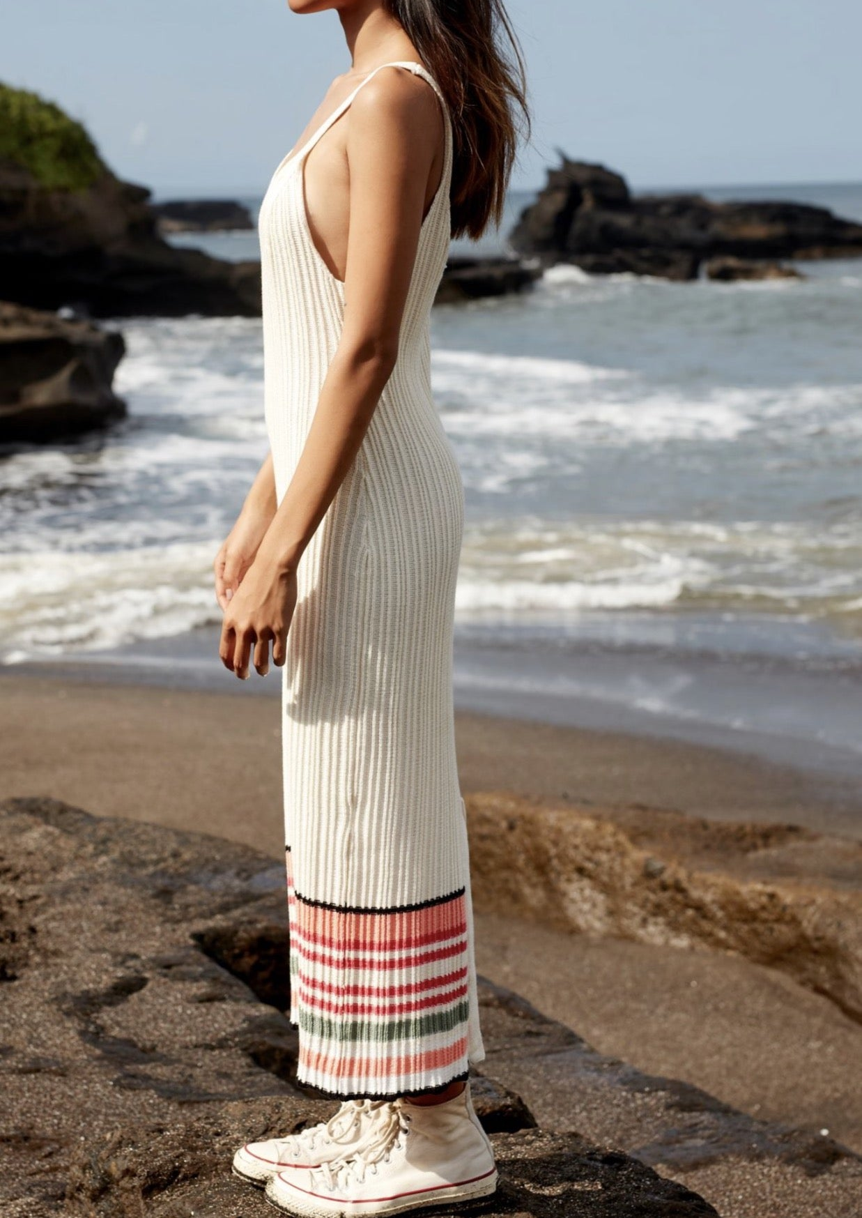 Saige Maxi Dress - Retro Stripe