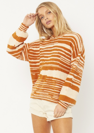 Donna Knit Sweater - Rum