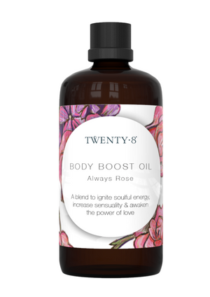 Body Boost Oil - Always Rose