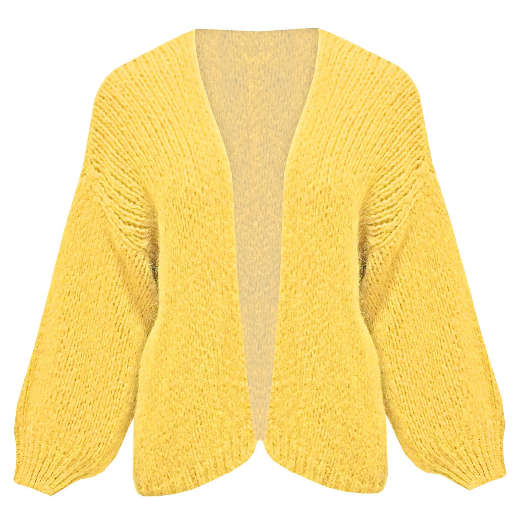 My Favo Cardigan - Yellow