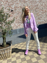 Afbeelding in Gallery-weergave laden, Vegan Leather Jogger Meagan - Offwhite