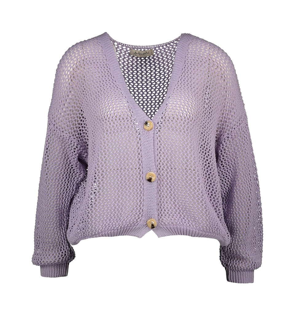 Cardigan Roos - Lilac