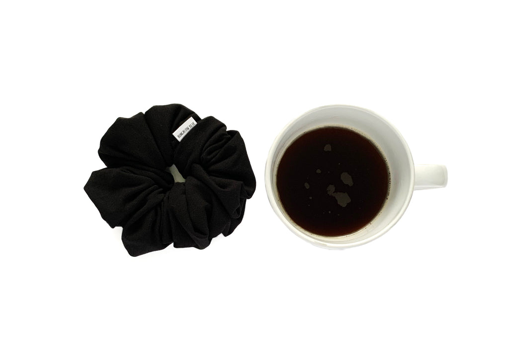 """Black Coffee"" Scrunchie"