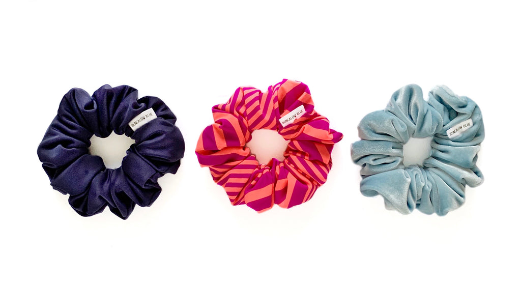 """Monica"" Scrunchie"