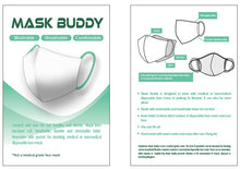Load image into Gallery viewer, Mask Buddy Mini Kid's Plum