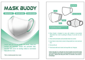 Mask Buddy Mini Kid's Teal