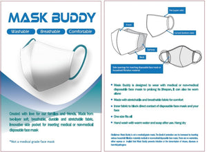 Mask Buddy Teen Charcoal