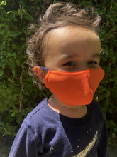 Load image into Gallery viewer, Mask Buddy Mini Kid's Bright Orange