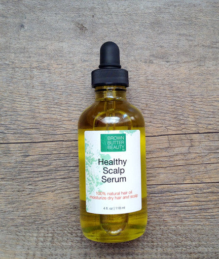 Dry Hair and Scalp Remedy - Natural Hair Oil