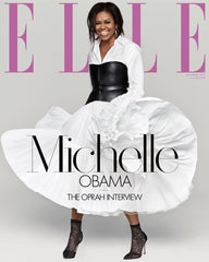 Michelle Obama 2018 Cover of Elle Magazine