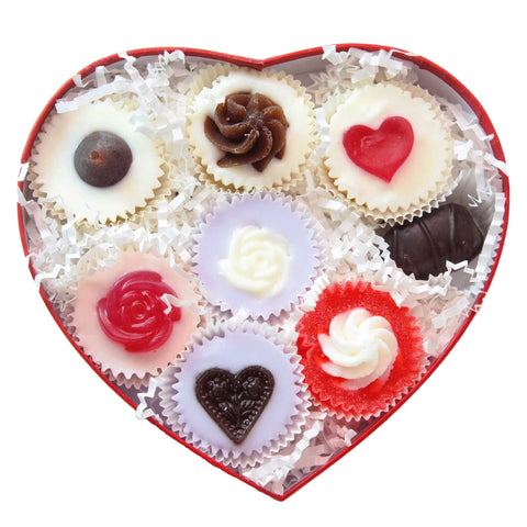 Unique Valentines Gift for Her - Soap Cupcakes Gift Set