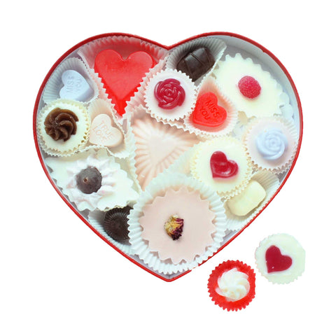 Large Heart Box | Mini Soap Gift Set - 13oz