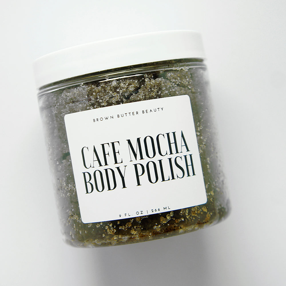 coffee body polish