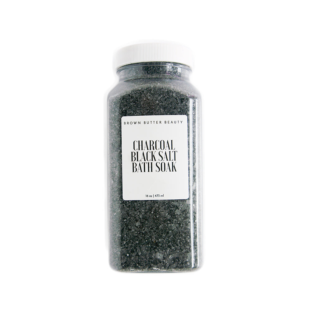 Coconut Charcoal Black Bath Salts