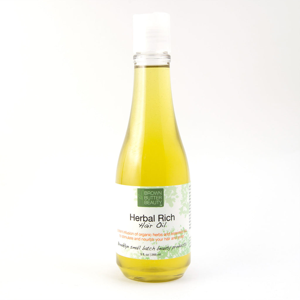 Herbal Hair Oil for Hot Oil Treatment or Pre Poo