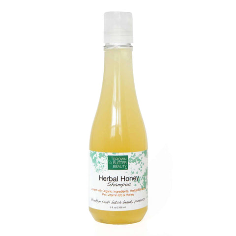 Herbal shampoo with honey