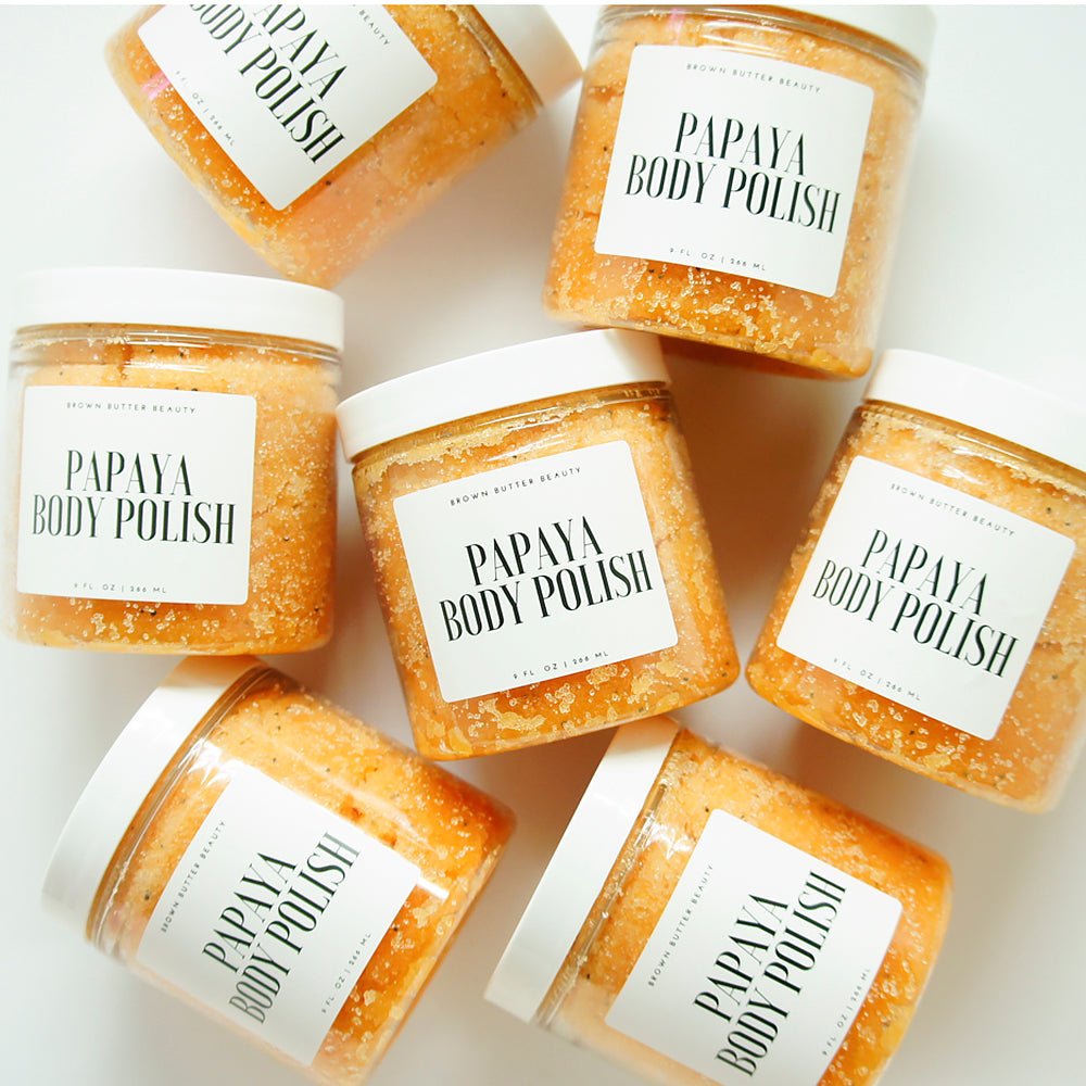 Papaya Sugar body scrub