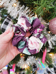 Handmade Scrunchie - Purple Floral