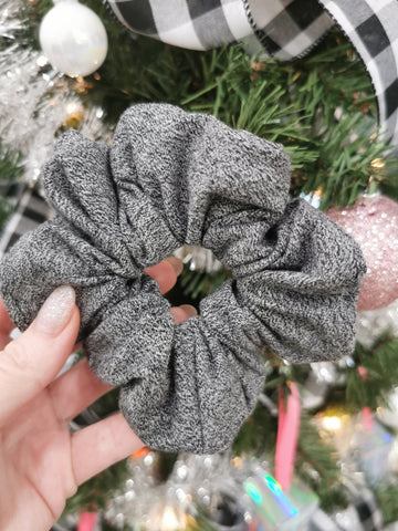 Handmade Scrunchie - Dark Grey