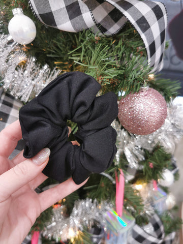 Handmade Scrunchie - Black