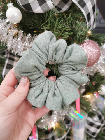 Handmade Scrunchie - Sage Green