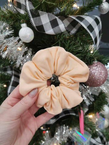 Handmade Scrunchie - Peach Color