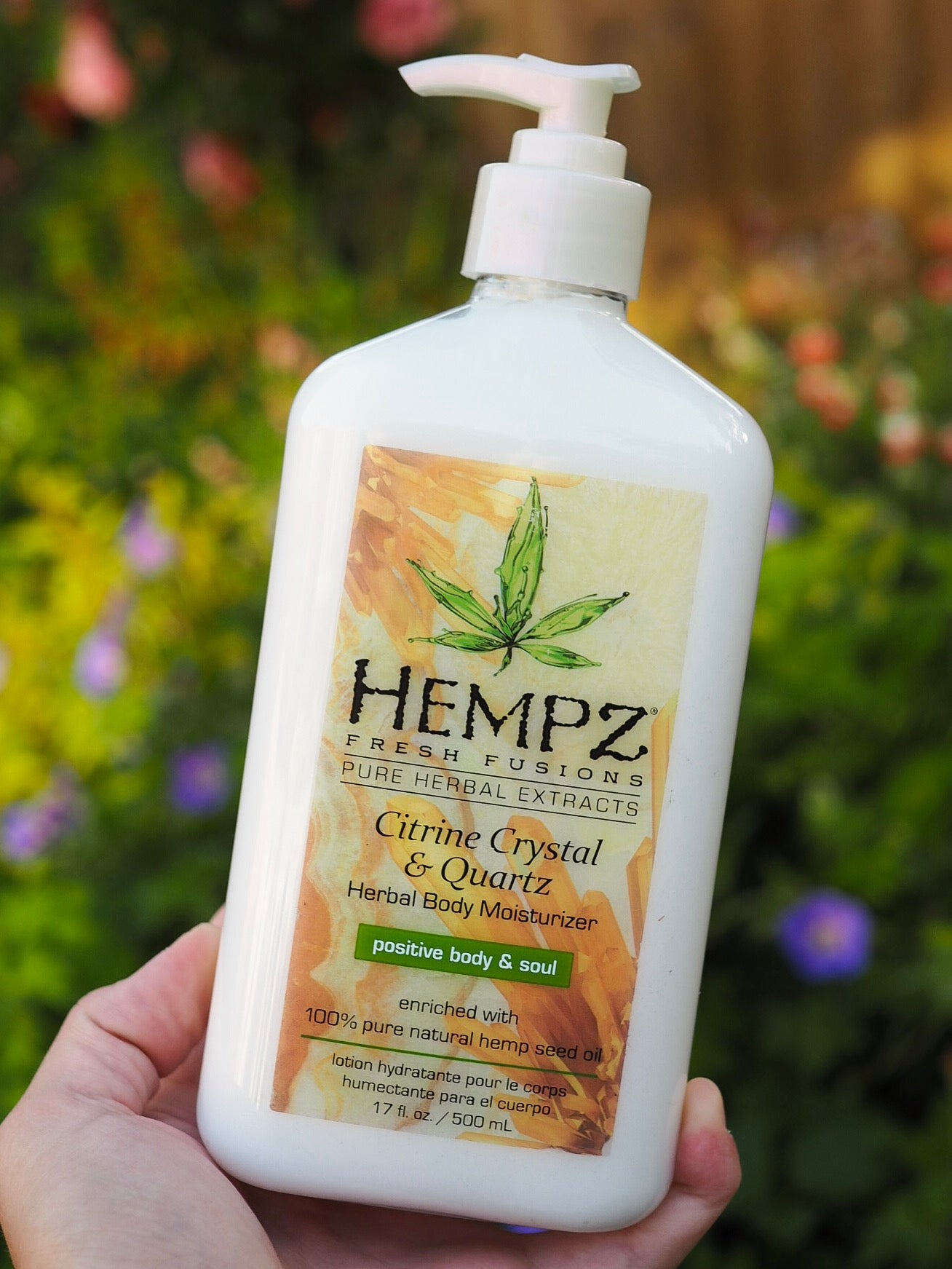 Hempz Lotion - Citrine Crystal and Quartz