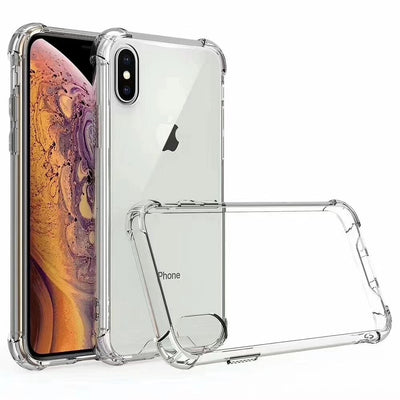 Acrylic+TPU Transparent Clear Case for iphone
