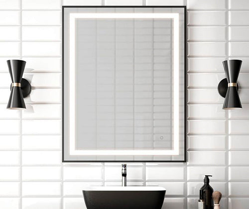 Effect miroir rectangulaire 30X38