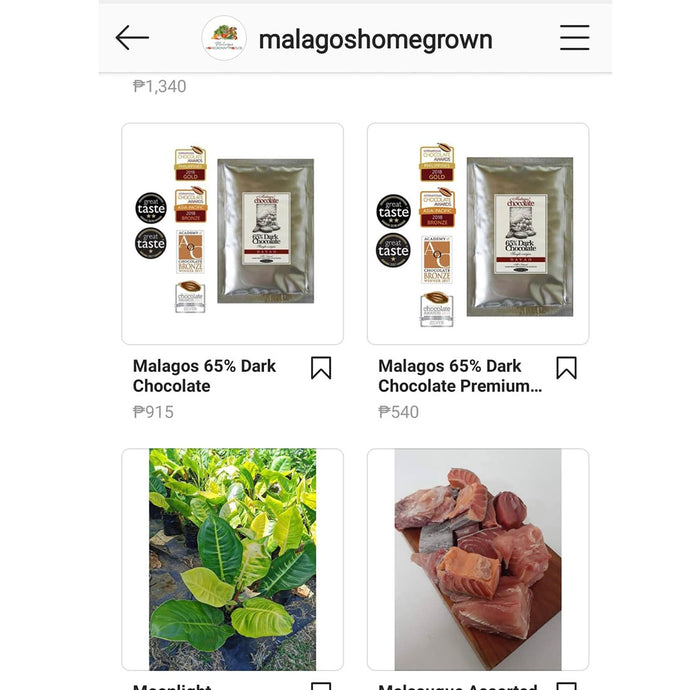 Easier Shopping with Malagos Homegrown Produce