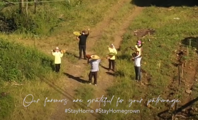Thank you for choosing to #stayhome and #stayhomegrown with us! 💖
