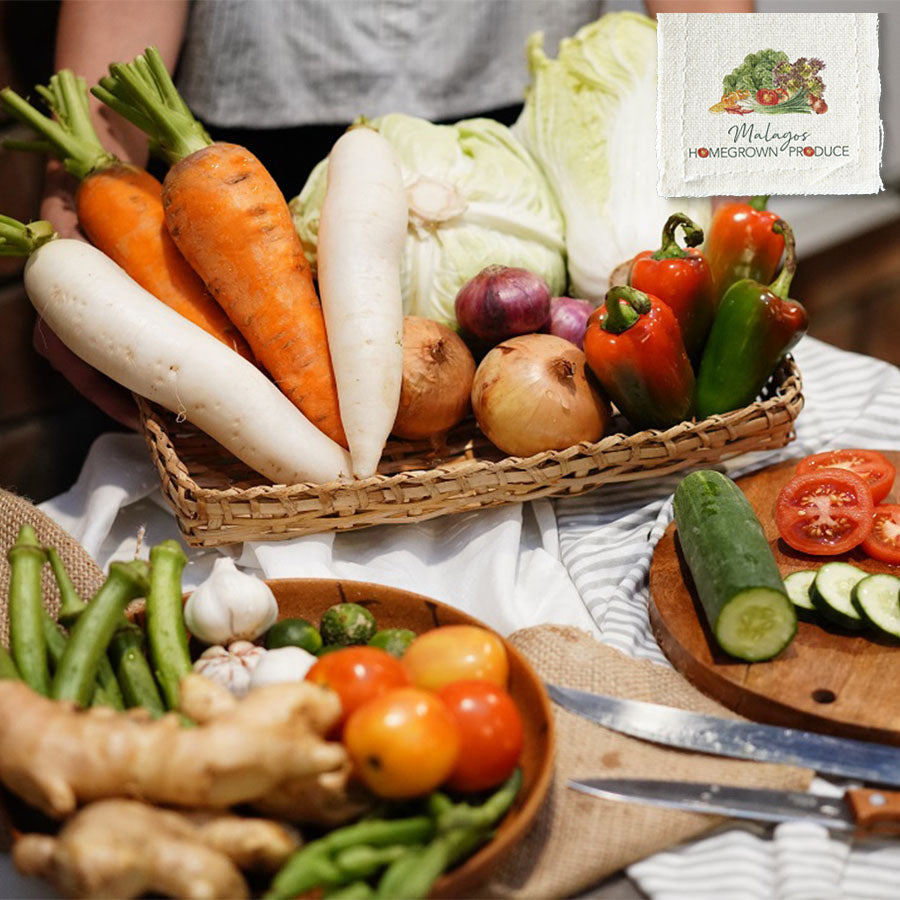 Malagos Homegrown Produce Fresh Vegetables